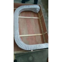 洗衣液瓶生产线通用85宽度柔性链板输送机