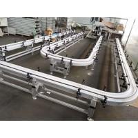 150宽垂直循环柔性线链板输送机