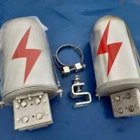 宁夏24芯杆用铝合金接头盒批发商