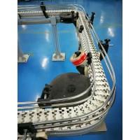 45度65度90度180度270转弯垂直提升塑料网带输送带