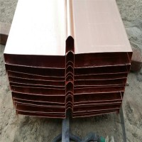 紫铜止水铜板铜片铜止水带黄铜U/V/W型水利水电工程定制