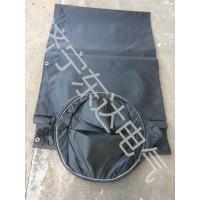 工厂直销塑料涂覆布风筒 橡塑涂覆布风筒厂家