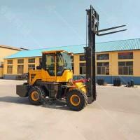 供应四驱前移式越野叉车 多功能起重内燃柴油叉车 搬运装卸车