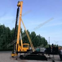 质量保证 8米长轮式螺旋打桩机