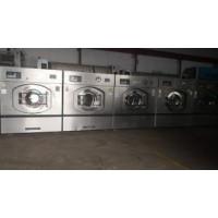 邯郸出售二手卧式水洗机二手洗涤设备二手烫平机折叠机
