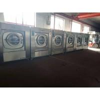 济南出售多台海狮二手100公斤水洗机二手酒店布草洗涤设备