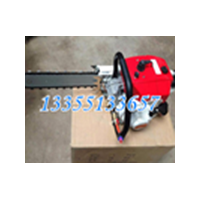 矿用风动链锯操作手册 FLZ-400切木料效率高