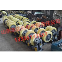 L30机械式滚轮罐耳安装与运行 滚轮罐耳防滑轮价格