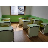 课桌椅培训桌辅导班机构课桌椅 午托班桌椅