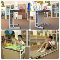 辅导班学生课桌可变午休床-中小学生课桌椅