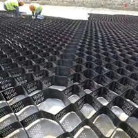 园林绿化蜂巢土工格室|坡面植草固土土工格室|植草绿化网格