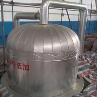 济南化工脱硫塔保温施工设备玻璃棉彩涂板保温施工安装