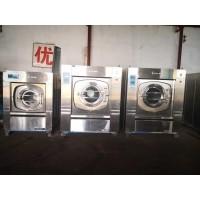 枣庄转让整套二手百强水洗厂设备二手五棍烫平机折叠机送布机