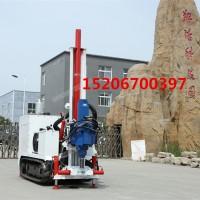 环境检测取样钻机 可遥控行走可潜孔200米
