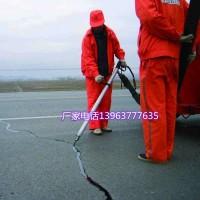 100升沥青地面胶地面灌缝机操作简单的小型地面补封机