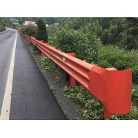 甘肃敦煌波形梁护栏波形梁钢护栏施工