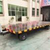 8吨平板车 无动力牵引工业全挂车非标订制